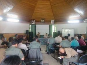 Rapat Bulanan TNGHS