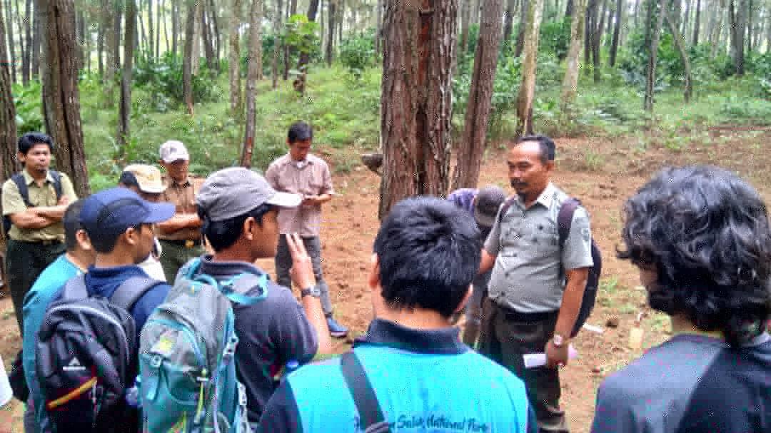 Shared-learning Balai Taman Nasional Gunung Halimun Salak di KPH Banyumas Barat