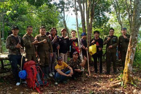tim tanahalisa ke gunung haimun selatan