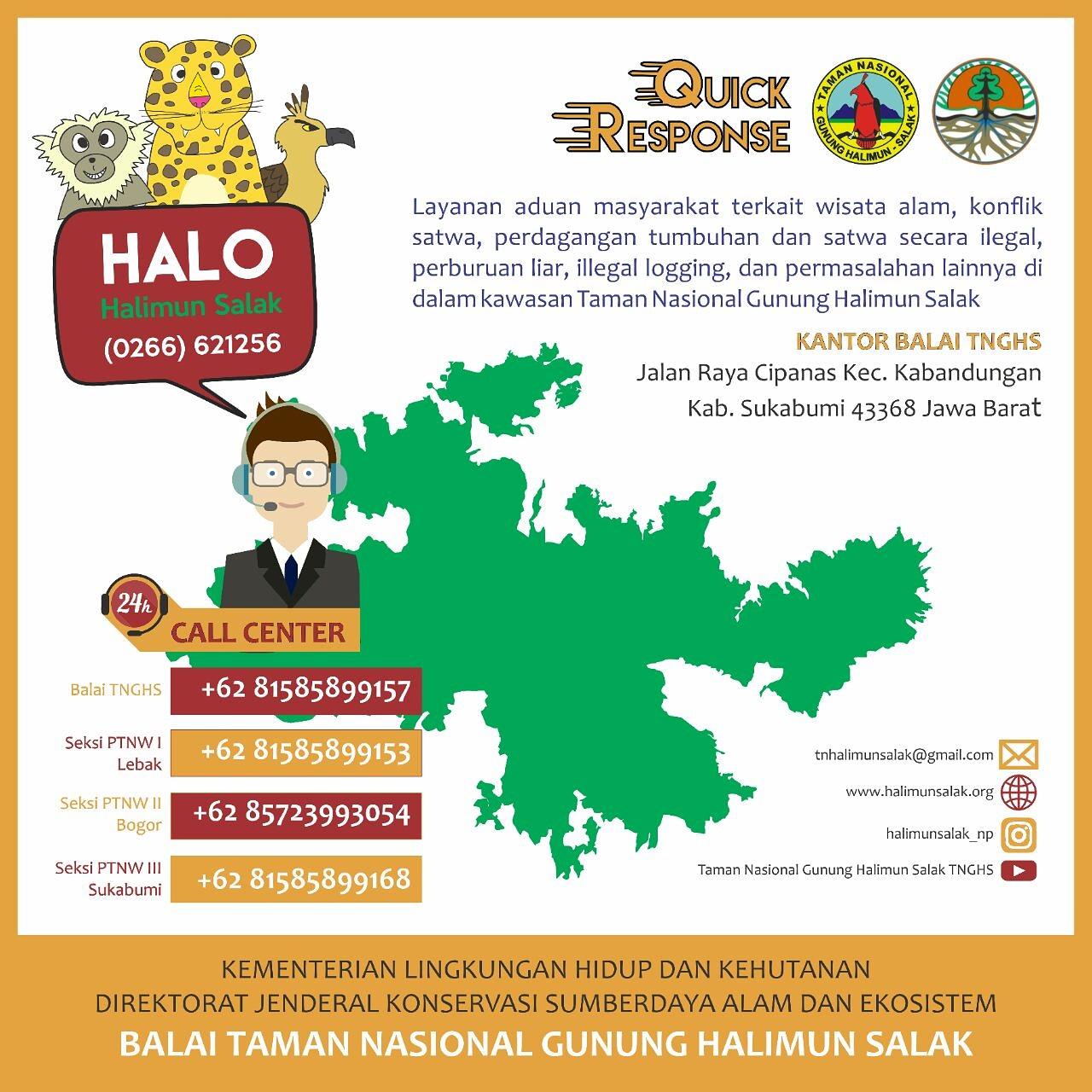 Quick Response Halimun Salak