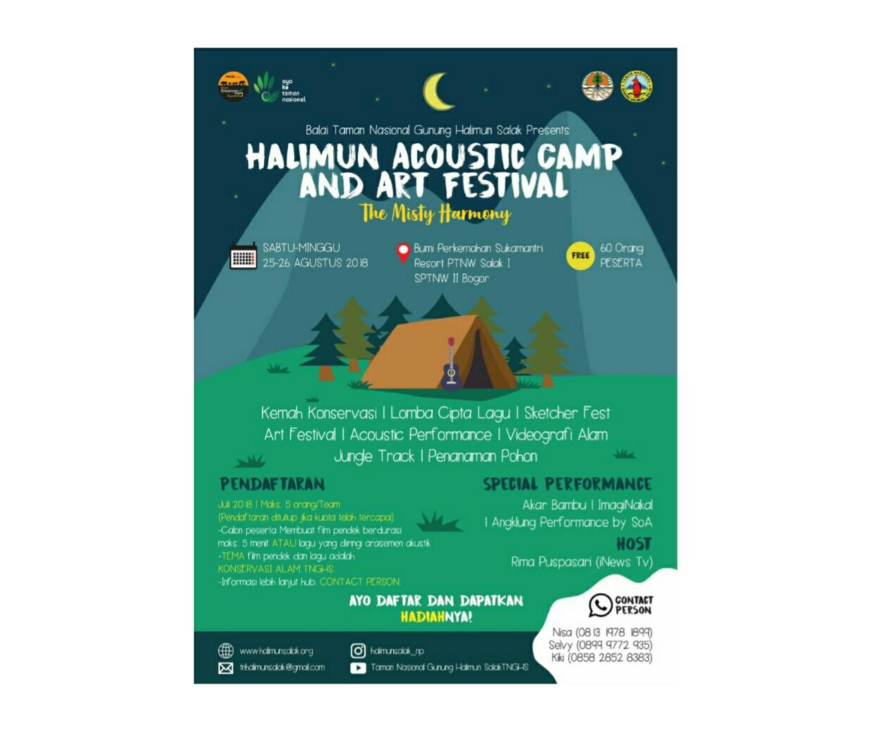 Pengen camping plus akomodasi gratis di Sukamantri?